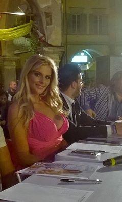 La madrina Francesca Cipriani in giuria