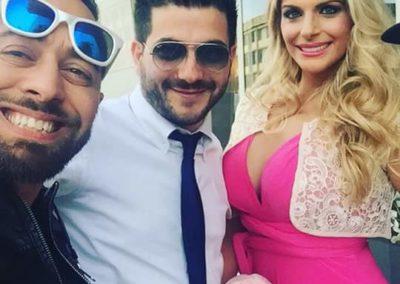 A spasso con Francesca e Mitch