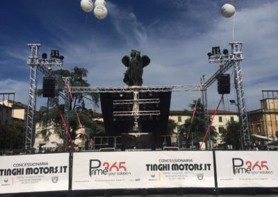 Palco Piazza della Vittoria