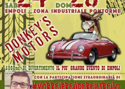 Cartolina Donkey's Motors